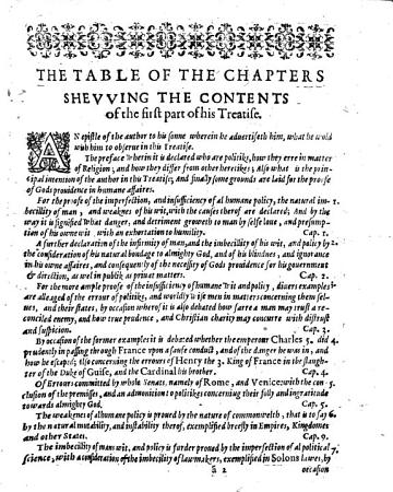 The First    Second  Part of a Treatise Concerning Policy  and Religion  Wherein the Infirmitie of Humane Wit is Amply Declared  with the Necessitie of Gods Grace  and True Religion for the Perfection of Policy  and by the Way Some Political Matters are Treated     with a Confutation of the Arguments of Atheists  Against the Prouidence of God     Written by Thomas Fitzherbert     PDF