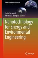 Nanotechnology for Energy and Environmental Engineering PDF