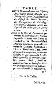 Defense de la monarchie de Sicile contre les entreprises de la Cour de Rome
