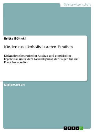 Kinder aus alkoholbelasteten Familien PDF