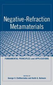 Negative-Refraction Metamaterials: Fundamental Principles and Applications