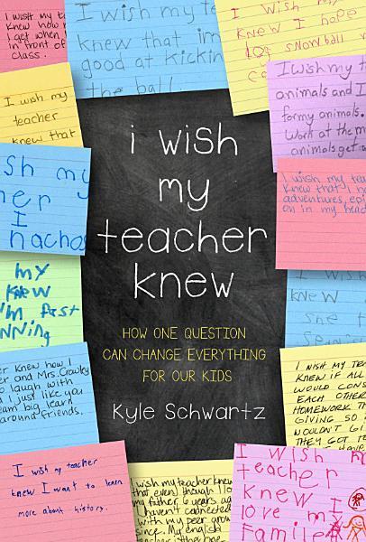 Download I Wish My Teacher Knew Book