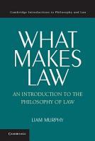 What Makes Law PDF
