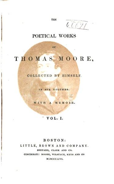 Download The Poetical Works of Thomas Moore Book