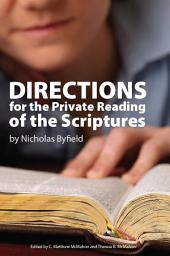 Directions for the Private Reading of the Scriptures