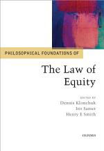 Philosophical Foundations of the Law of Equity