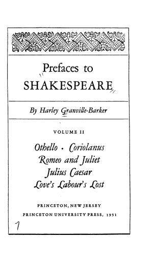 Othello  Coriolanus  Romeo and Juliet  Julius Caesar  Love s labour s lost PDF
