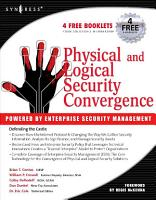 Physical and Logical Security Convergence  Powered By Enterprise Security Management PDF