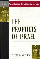 101 Questions and Answers on the Prophets of Israel PDF