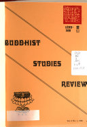 Download Buddhist Studies Review Book