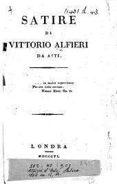 Satire di Vittorio Alfieri da Asti
