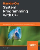 Hands On System Programming with C   PDF