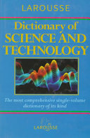 Larousse Dictionary of Science and Technology PDF