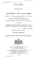 Returns of Accidents and Casualties PDF