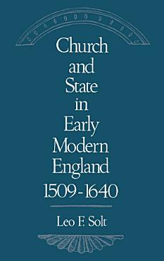Church and State in Early Modern England  1509 1640 PDF