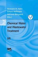 Chemical Water and Wastewater Treatment VII PDF