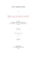 A New Variorum Edition of Shakespeare  Hamlet  5th ed  1877 PDF