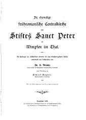 Die ehemalige frühromanische Centralkirche des Stiftes Sanct Peter zu Wimpfen im Thal