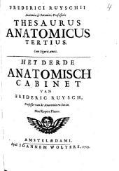 Thesaurus anatomicus tertius [...].: Deel 3