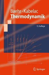 Thermodynamik: Grundlagen und technische Anwendungen, Ausgabe 13