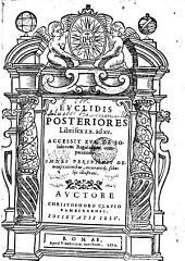 Euclidis Posteriores libri sex a X ad XV. Acc. XVI. de solidorum regularium comparatione...