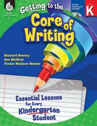 Essential Lessons For Every Kindergarten Student Book PDF