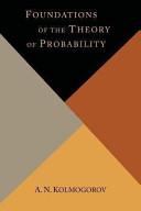 Foundations of the Theory of Probability PDF
