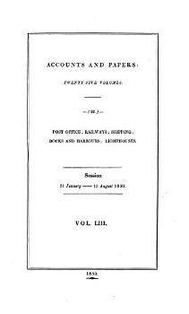 Accounts and Papers of the House of Commons PDF