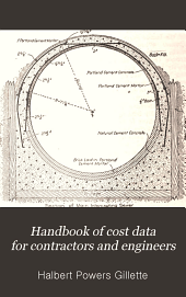 Handbook of Cost Data for Contractors and Engineers: A Reference Book Giving Methods of Construction and Actual Costs of Materials and Labor on Numerous Engineering Works