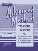Rubank Advanced Method - Trombone Or Baritone