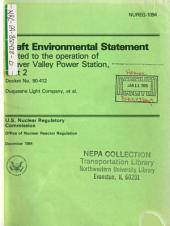 Beaver Valley Power Station Unit 2, Operation: Environmental Impact Statement