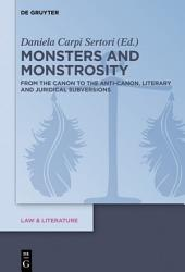 Monsters and Monstrosity PDF