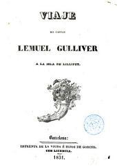 Viaje del capitán Lemuel Gulliver a la isla de Lilliput