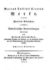 Werke: 2 : Tusculanische Unterredungen ; Bdch. 2