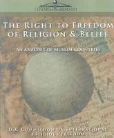 The Right to Freedom of Religion   Belief PDF