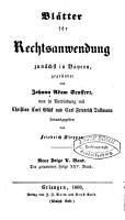 J  A  Seuffert s Bl  tter f  r Rechtsanwendung PDF