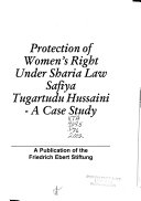 Protection of Women's Right Under Sharia Law