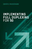 Implementing Full Duplexing for 5G PDF