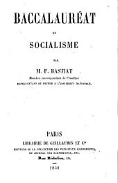 Baccalauréat et Socialisme