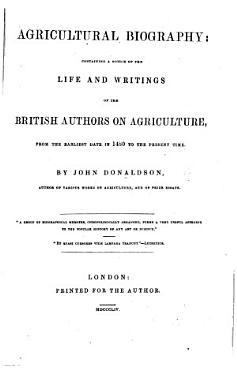Agricultural Biography  etc PDF