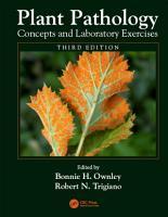 Plant Pathology Concepts and Laboratory Exercises PDF