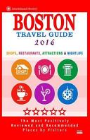 Boston Travel Guide 2016