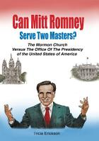 Can Mitt Romney Serve Two Masters  PDF