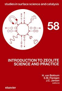 Introduction to Zeolite Science and Practice PDF