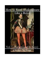 How to Read Shakespeare Like a Royal (Vol 1)