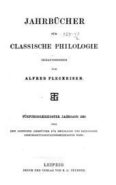 Neue Jahrbücher für Philologie und Paedagogik: Band 139