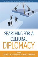 Searching for a Cultural Diplomacy PDF