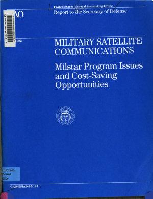 Military Satellite Communications PDF