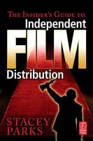 The Insider s Guide to Independent Film Distribution PDF