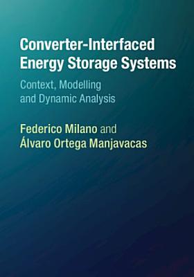 Converter-based Energy Storage Systems